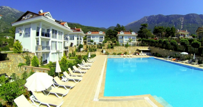 Modern Ovacik 2 Bedroom Apartments With Large Communal Pool