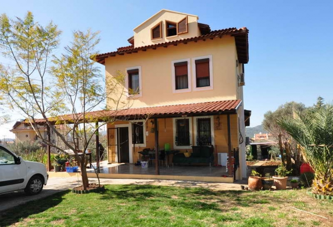 Private Ovacik Villa with Mature Garden 5 Bedrooms