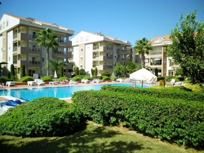 Spacious Bargain Apartments in Residential complex in Side Antalya