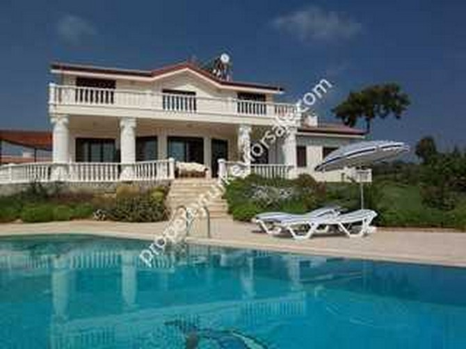 Villa Exterior with Oversized Pool