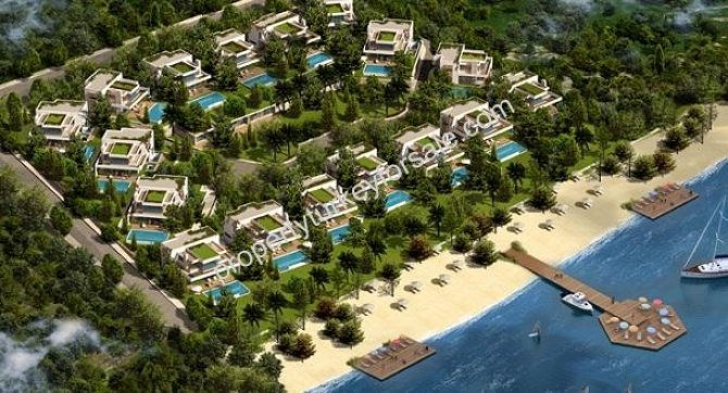 Beachfront Villa in Bodrum Torba