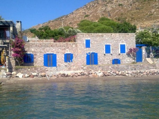 Land in Bodrum Akyarlar with Sandy Beach and Mooring