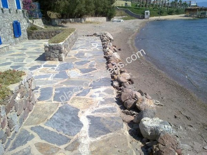 60 metre frontage to sea with a sandy beach