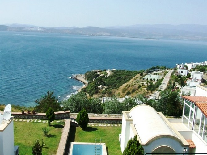 Modern 4 Bedroom Villa with Stunning Sea Views in Bodrum