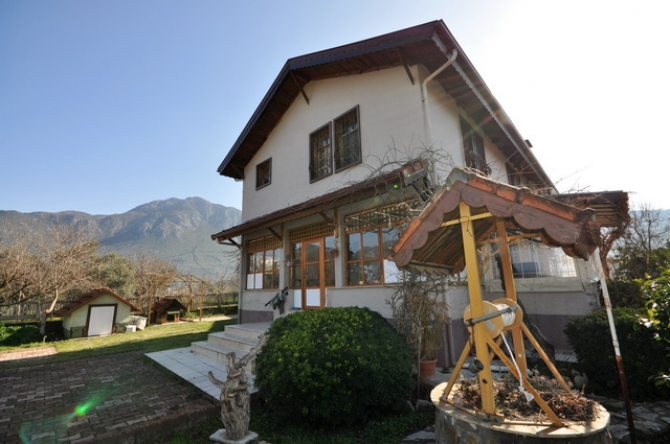 3 Bedroom Detached Villa in Peaceful Uzumlu with Pool