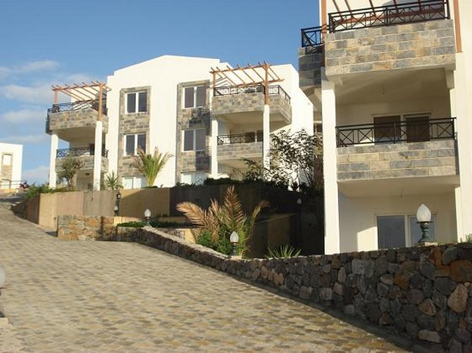 Apartments are modern but in keep with traditional architecture of Bodrum