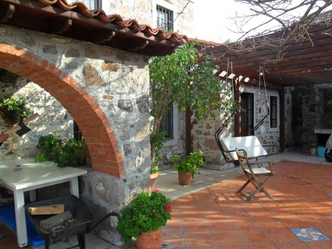 Stunning Authentic Stone House in Ortakent Bodrum