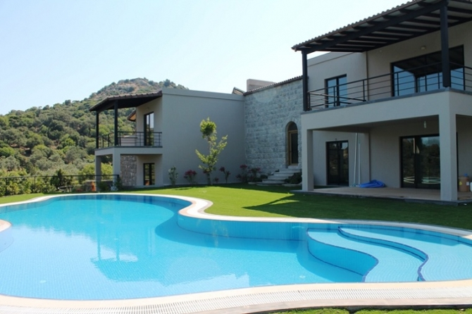 Country Mansion House with total privacy in Yalikavak