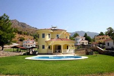 Lakeside Villas in Akkaya Dalaman with Private Pools 3 Bedrooms
