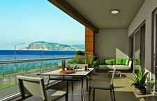 Beachfront Alanya Apartment Sea View 1 Bedroom