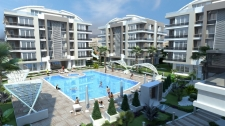 Modern Apartments for sale in a luxury complex in Antalya