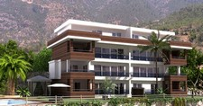 Contemporary Alanya Apartment Sea View 2 Bedrooms