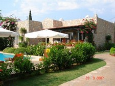 Attractive Bitez Villa with 2 Guest Houses 5 Bedrooms