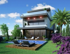 Modern Spacious 4 Bedroom Detached Villas with Private Pool