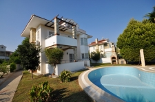 3 Bedroom Detached Villa with Swmimming Pool in Koca Calis