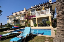 Four Bedroom Beach Front Villa with Sea View in Calis