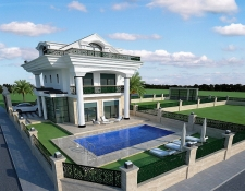 5 Bedroom Detached Luxury Quadruplex Villa with Pool