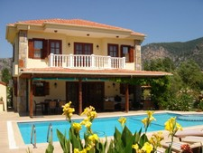 Splendid Dalyan Villa with Large Private Pool 3 Bedrooms for sale