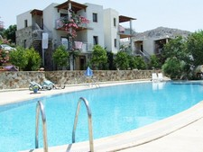 Gumusluk 2 Bedrooms Duplex Apartment with Pool