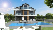4 Bedroom Off Plan Detached Villas with Swimming Pool