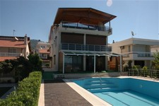 Beachfront Izmir Villa with Boat Mooring 6 Bedrooms for sale