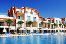 Bodrum Beachfront apartments for sale with hotel facilities