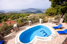 Secluded Kalkan Villa Huge Garden and Private Pool 3 Bedrooms for sale