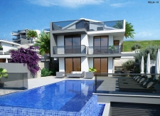 3 Bedroom Off Plan Luxury Villas with Sea View