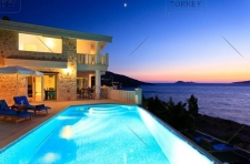 Beachfront Kalkan Villa Prime Location 4 Bedrooms