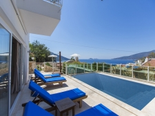 Renovated 4 Bedroom Villa with Sea View in Kalkan