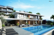 4 Bedroom Off Plan Detached Villa with Sea View and Pool