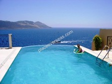 Waterfront Villa on Kas Peninsula with Sea Access