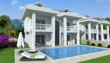 Off Plan - Three Storey Ovacik Villa With Mountain View