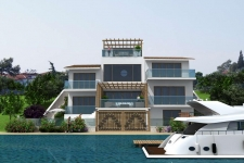 Beachfront Villa for sale in Fethiye Sovalye Island