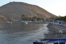 Bodrum beachfront land for sale near Turgutreis Marina