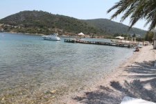 Beachfront Plot of Land in Turkbuku Bodrum - Place Overseas