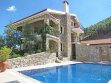Impressive Detached Stone Villa with Pool in Uzumlu Fethiye