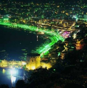 Alanya: Night view