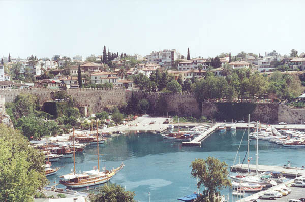 Antalya Old Town with Harbour