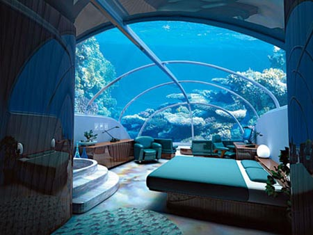 Istanbul City Centre: Hotel UnderSea