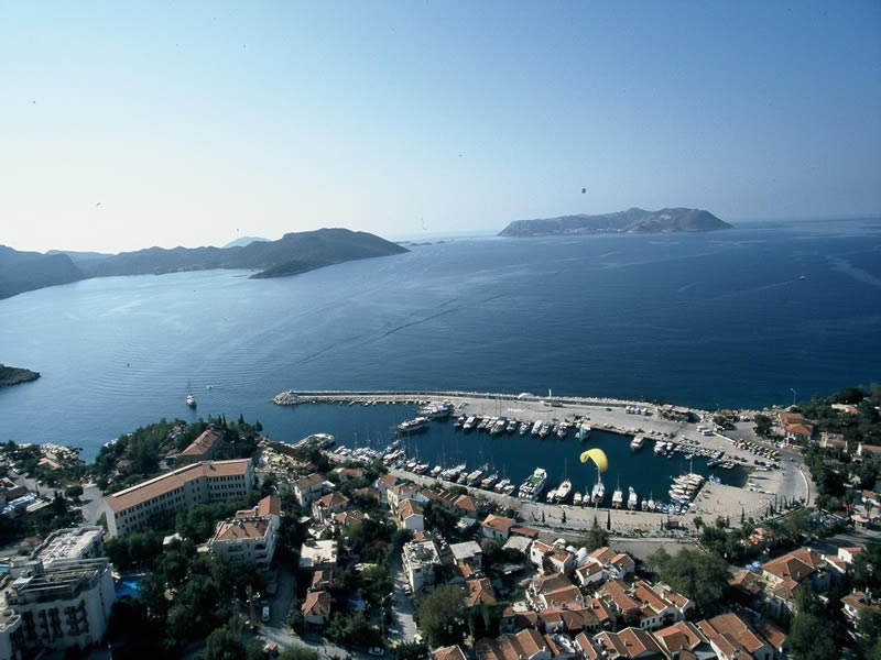 Kas Old Town and Authentic Fishing Harbour