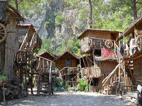 olympos treehouses