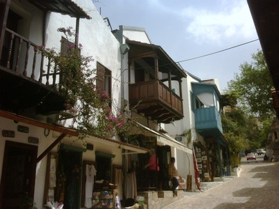 Traditional Kas Houses Greek and Turkish Architecture Fusion