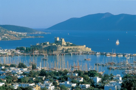 Views over Bodrum Castle